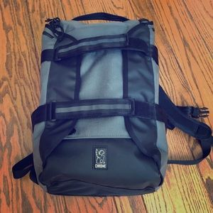 Chrome Industries Backpack - Brigade model in gray